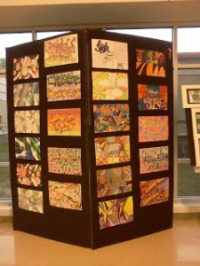 8 unique ways to display student artwork. Your students will be thrilled to see their artwork this way!
