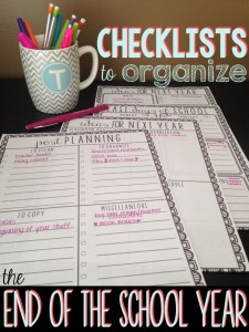 Printable checklists.