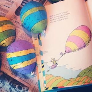Read aloud, with a balloon making activity which attaches to a written future goal/place they'll go.