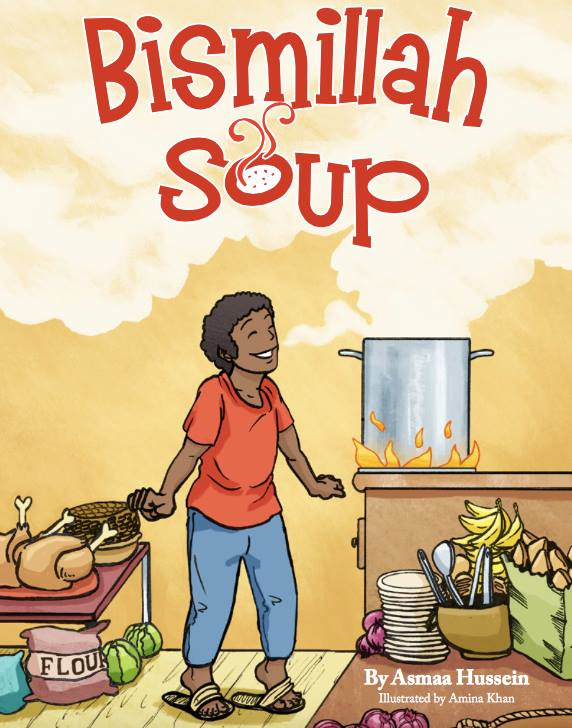 Read a book review of Bismillah Soup by Asmaa Hussein, and get amazing lesson ideas to go along with the story!