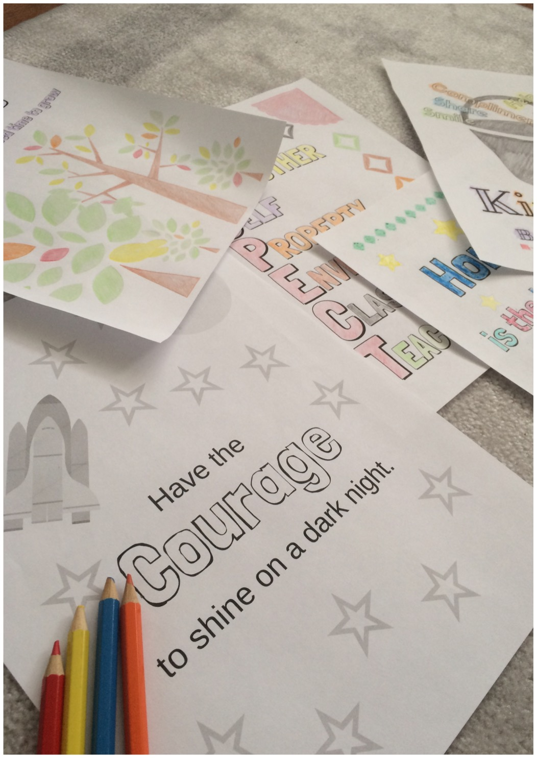 5 adorable coloring pages, each with a different character trait you want your students to have! Your students will love coloring these wonderful pages, while contemplating their meaning. Includes: patience, honestly, kindness, courage and respect.