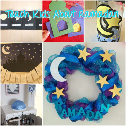 Great ideas to teach kids about Ramadan!