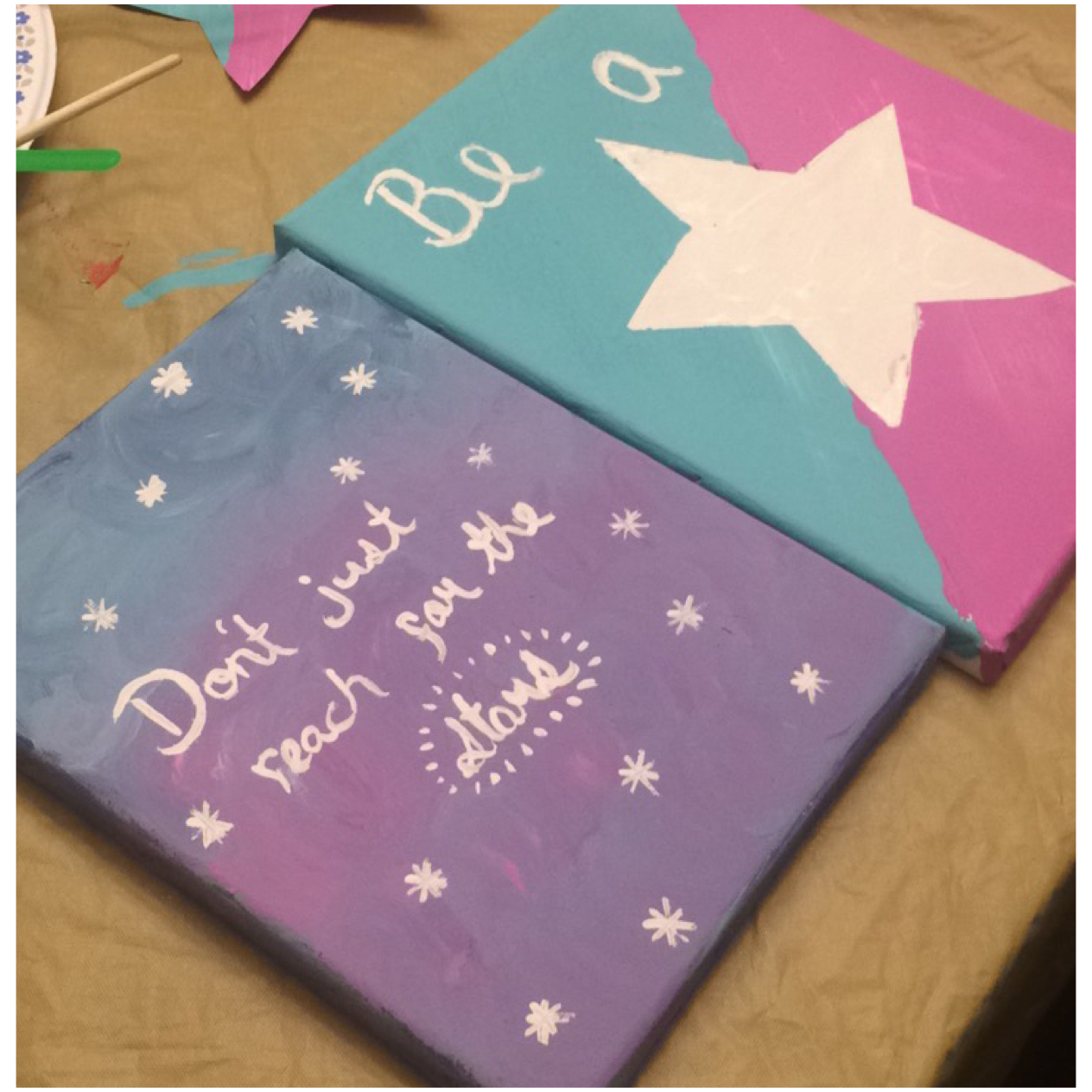 A mother-daughter painting activity, that promotes bonding and character development.