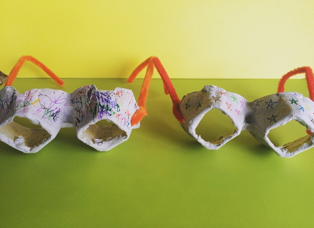 Fun egg carton craft ideas!