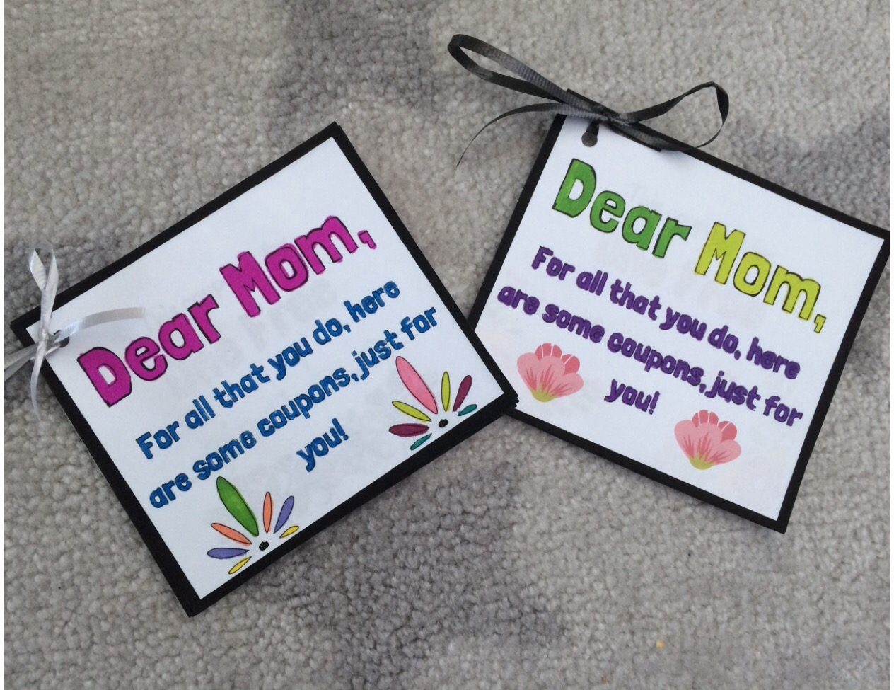 This is an adorable Mother's Day coupon booklet activity. Students will get to create and design coupon's to give to their moms.