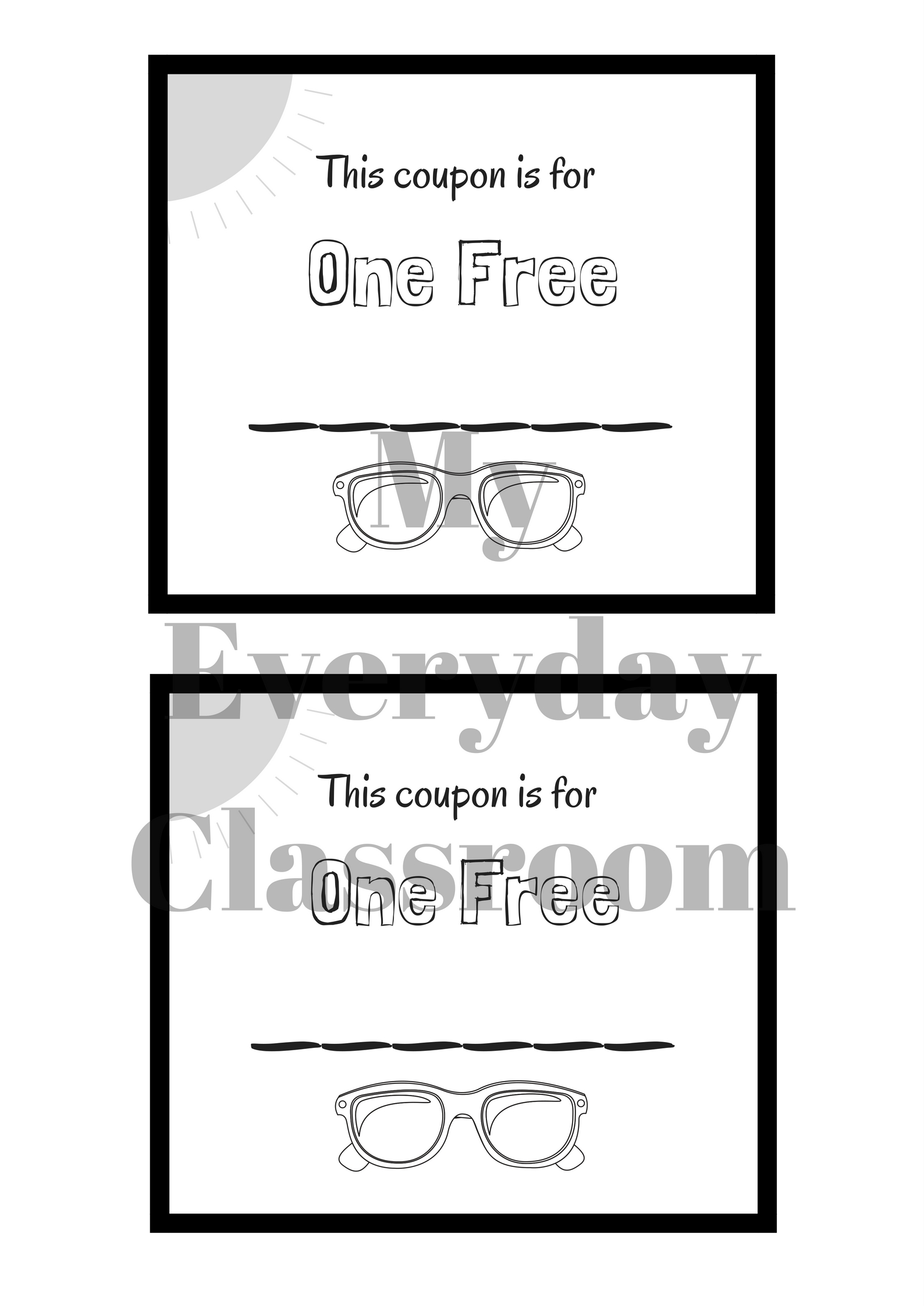This is an adorable Father's Day coupon booklet activity. Students will get to create and design coupons to give to their dads. This is a great way to encourage kids to think about the ways they can show appreciation to their fathers, and will promote some at-home action for Father's Day.