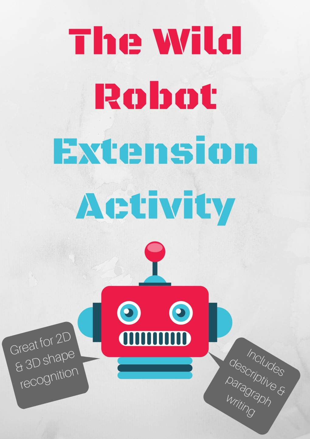 Modern Classroom Paragraph ~ Extension activities for the wild robot my everyday
